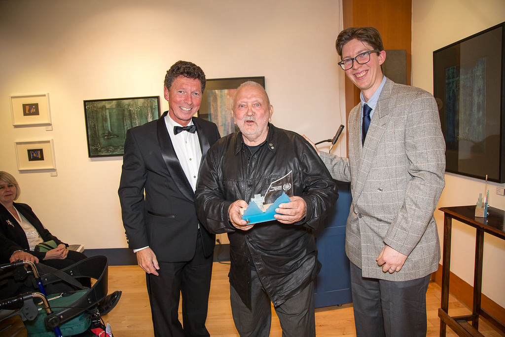 Executive Director of the VMM Dr. Joost Schokkenbroek, Sven Johansson, and Curator Duncan MacLeod.