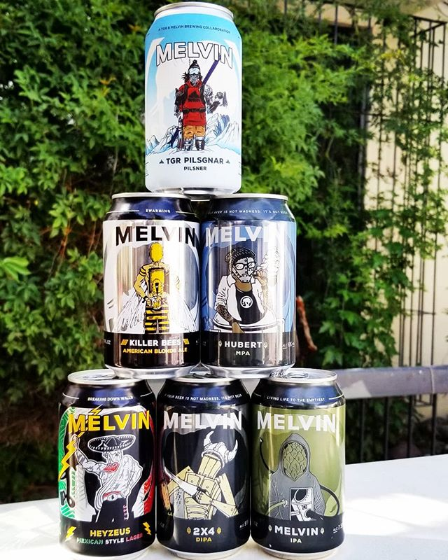 A little if Wyoming is in the southwest. @melvinbrewing is fresh in and ready to join your 6-pack or your BBQ from @statelinerestaurant.  #cheers  #elpaso #itsallgoodep #craftbeer #epcraftbeer #elpasocraftbeer #drinkmorecraftbeer #drinkcraftbeer #beersofinstagram #beerpic #welcometonewmexico #welcometonm #wyoming #melvinbrewing #friday #tgif #weekend #cheerstotheweekend