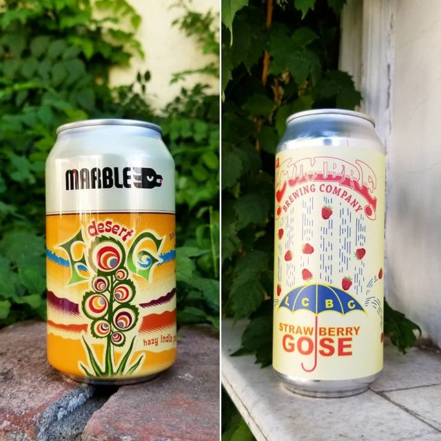 Two fresh New Mexico beers are in stock. Fog, Strawberry or both; what will you be getting today?  #cheers  #elpaso #itsallgoodep #craftbeer #epcraftbeer #elpasocraftbeer #drinkmorecraftbeer #drinkcraftbeer #beersofinstagram #beerpic #ipa #gose #strawberry #newmexicocraftbeer #newmexico