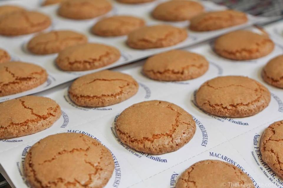 Reproduction 17th century Macarons courtesy of Nadia Fermigier in St. Emilion, France.