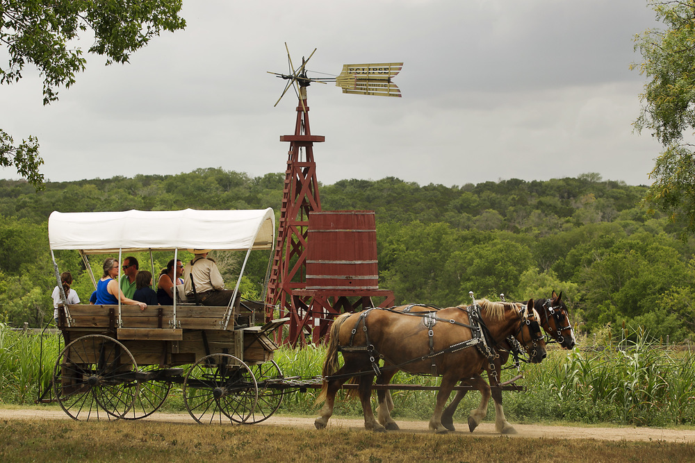 Step back into Texas of the 1800;'s at this unique living history museum.