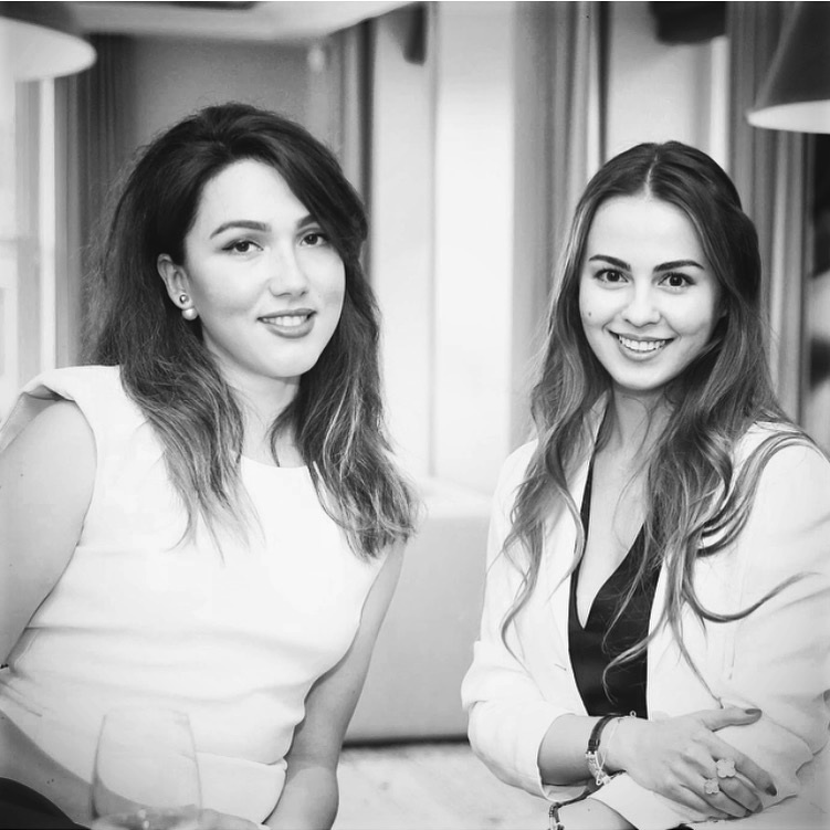 THE ART PARTNERS - founders, Anastasia Petrovskaia & Maria Korolevskaya