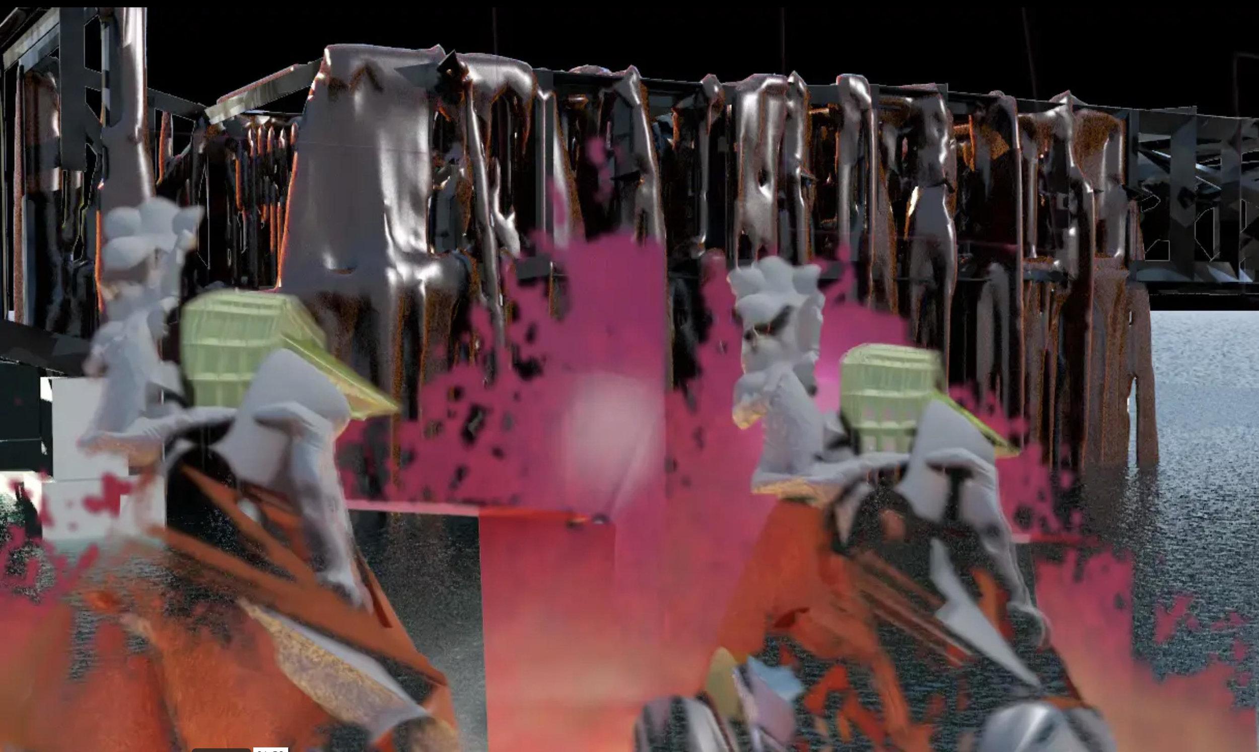 Still from  Robot Restoration, 2015 |  Video: 1 minute 30 Seconds