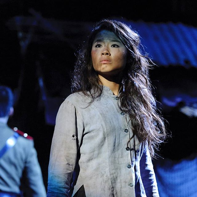 When I was a 21 year old student, time and space realigned and I was blessed with the part Kim in the Dutch production of Miss Saigon. Little did I know what this show would teach me; resilience, determination, friendship, love... It made my young heart blossom and years later I was allowed to play her older sister Gigi who had the same dreams as Kim but just wasn't granted the same hope.  How hope keeps us sane... Thank you for blessing me and so many around the world with your story and music.  Happy birthday Miss Saigon!