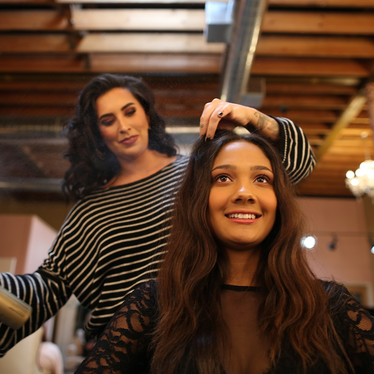 Hair Styling - BLowouts, Updos, Dry Styles, Extensions