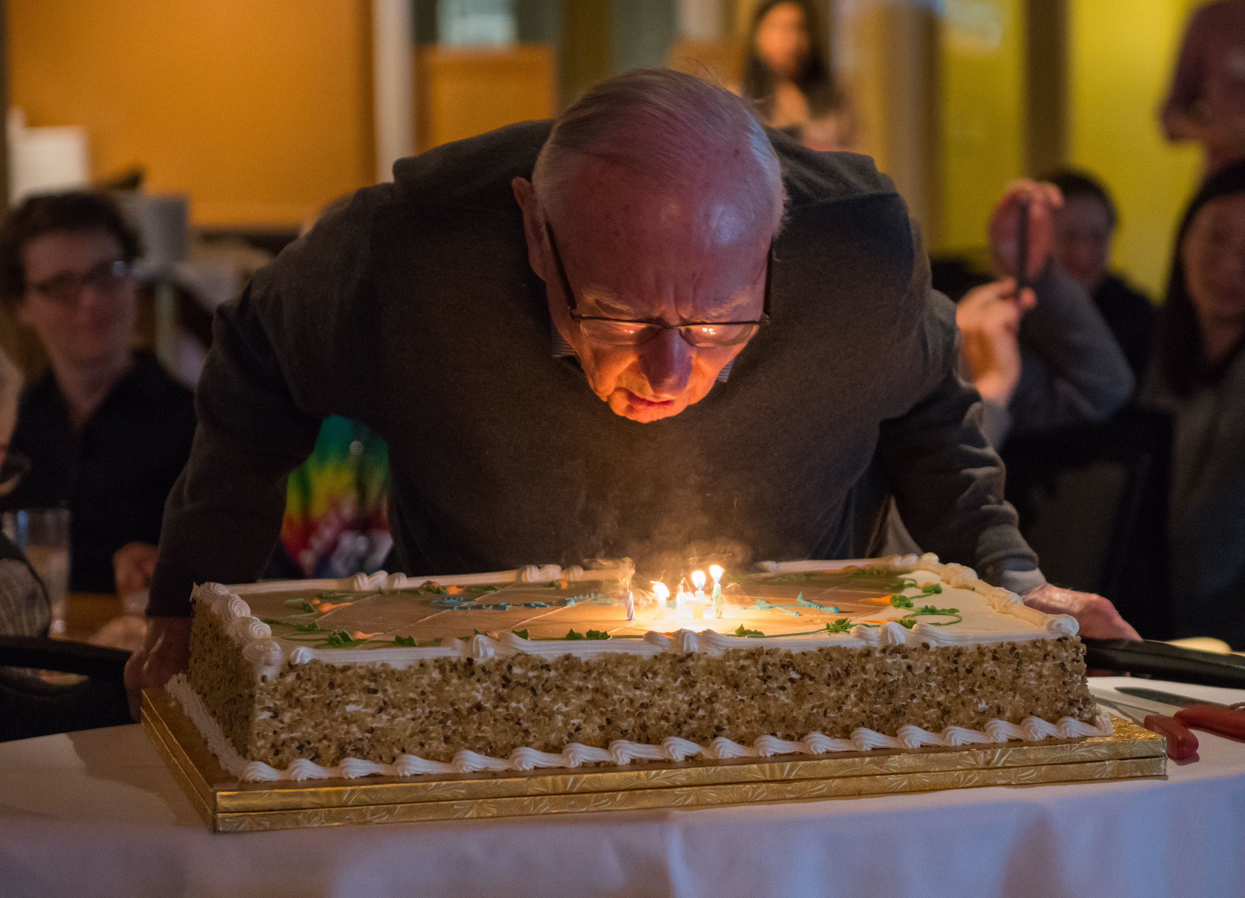 Founding Faculty Bob Lehman's 94th Birthday!