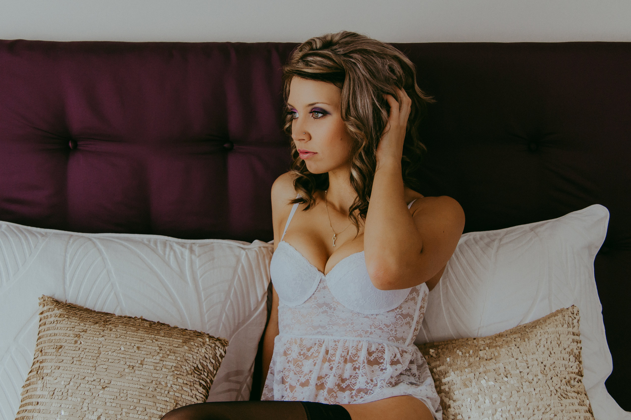 Riley - I loved my session with Courtney! She did a beautiful job on my photos for my boudoir shoot and was super fun and energetic to work with. Had lots of great suggestions that helped make my photos beautiful! Thank you so much, it was a pleasure working with you!