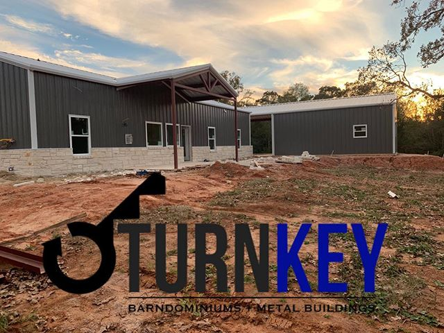 Back porch at our Franklin job 🔑  #catescasa #turnkeymetalbuildings