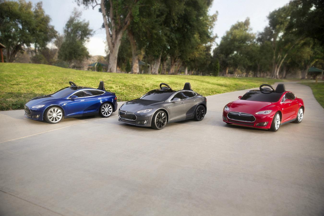 'Tesla mini-cars' for kids.
