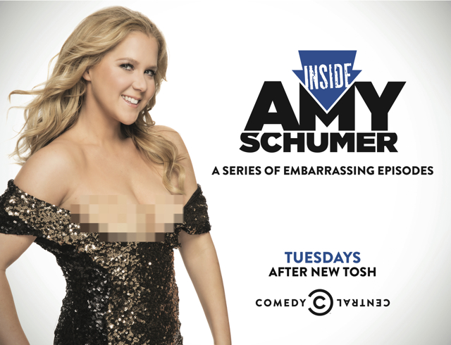 Comedy Central / Amy Schumer Launch Campaign