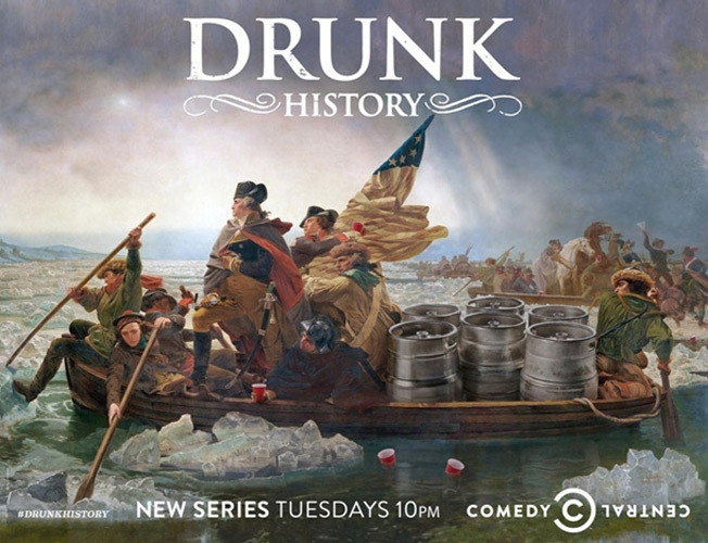 Comedy Central / Drunk History Subway Campaign