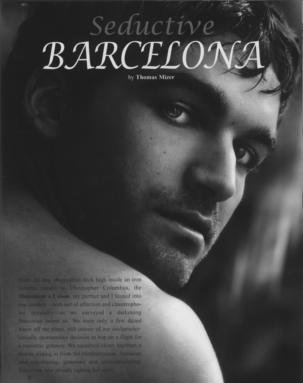 "Passport Magazine / ""Barcelona"" Page 1"