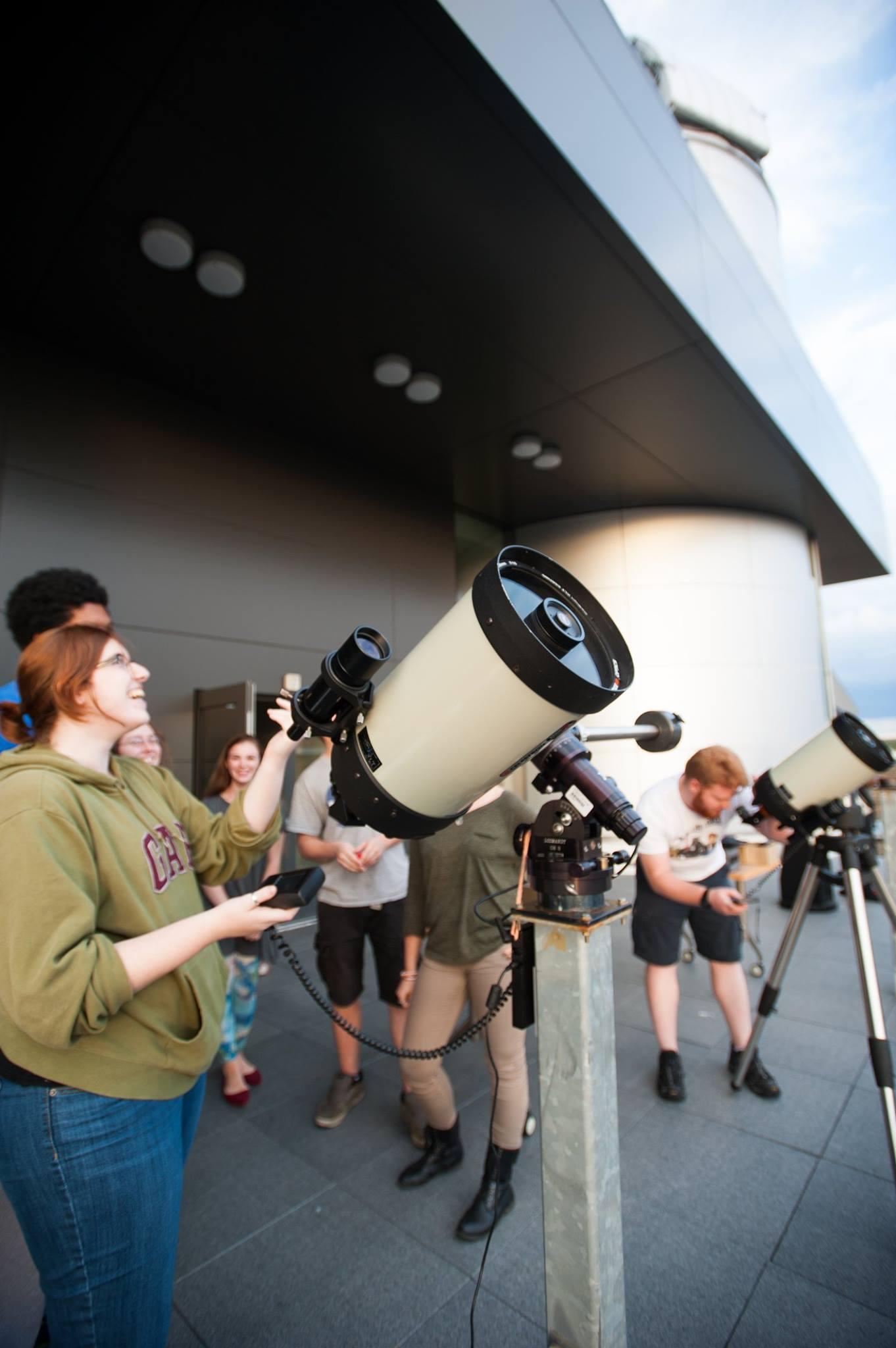 Photo: Bridgewater State University Observatory via Facebook