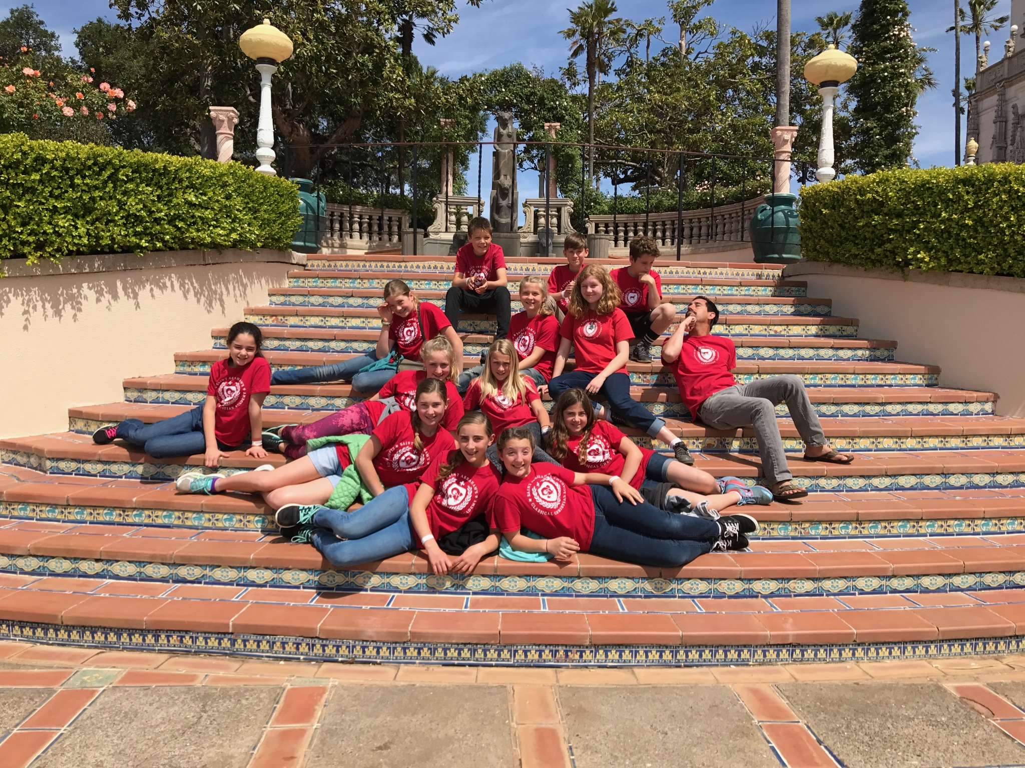 Hearst Castle Field Trip