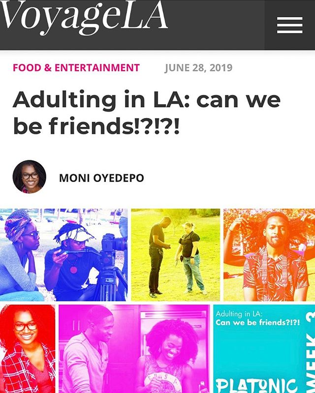 Week 3️⃣!! Check in with our creator @momonilessprobs as she explains how cultivating friendships is basically like dating other people on a platonic level once you hit young adult status. Check it out now on @voyagelamag!