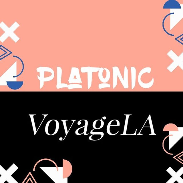 When two power houses come together to showcase the talent that's in their community it's unreal. Platonic's mission: highlighting dope black talent. VoyageLA's mission: highlighting dope movers and shakers in LA! We love this collab. Hope you do too. 🙌🏾🔥