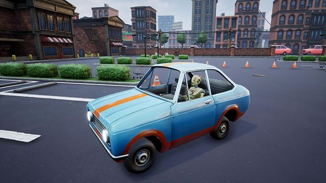 Whos that driving? Test dummies hit the road!  #gaming #gamedev #dev #steam #pcgaming #indiegame #indie #twitch #pc #gamers #indiegaming #pvp #car #battleroyale