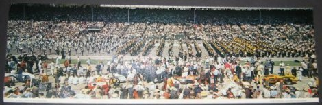 This color panoramic from 1963 is a little bigger than the 1947 and appears to be taken from the Tower grandstand.