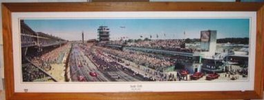 """A shot taken before the 2005 race from Grandstand""""E"""" ."""