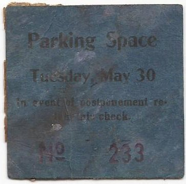 Note that the Parking Space ticket above has a serial number but the 1912 below does not.