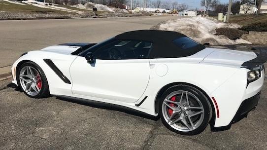 brand new corvette with ceramic coating!!