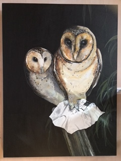 LOIS BURY - Well known Tasmanian and Bruny local artist who paints birdlife in acrylics and oils as well as being a popular children's book illustrator.