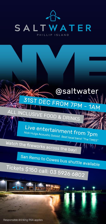 NYE @ Saltwater -