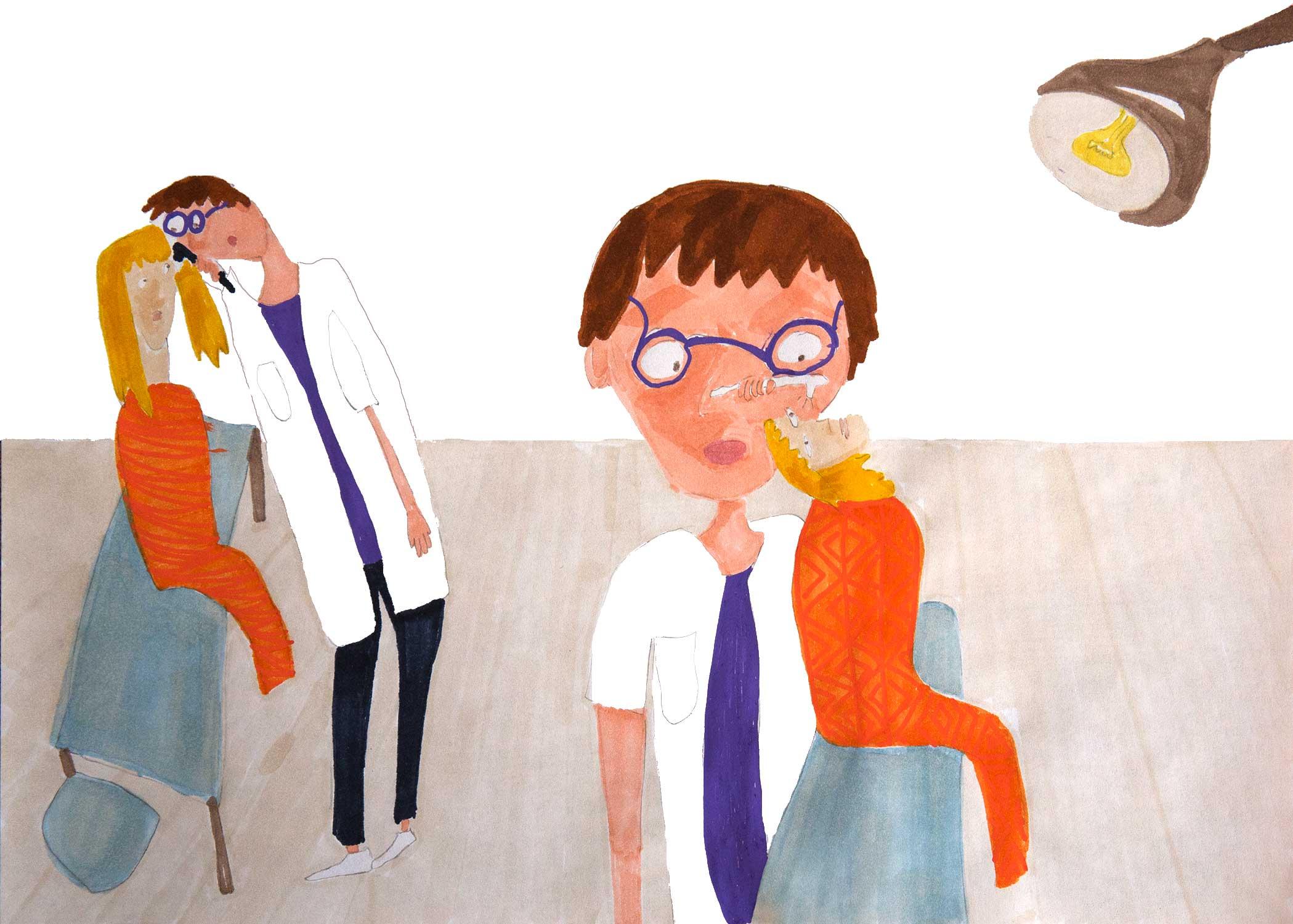 """""""Visit at clueless neurologist"""""""