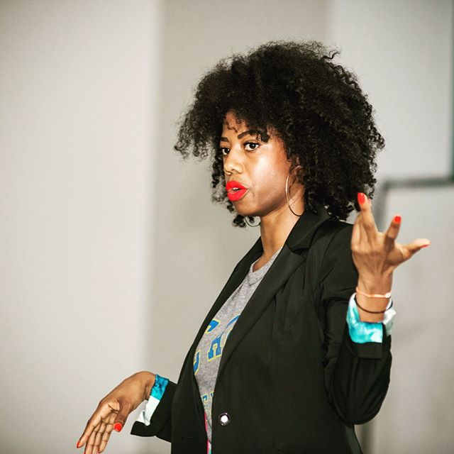 #tbt!!!!!!!! This will never get old! God is so so good ya'll! We kicked off the Women of Color FashTech Workshop series at my Alma Mater, the beloved #GHOE having #NCAT sponsored by my previous employer @amazon just 90 days after leaving their fashion organization, on the heels of launching Amazon Week in April! . . So many people to thank for making this happen... first up #salute @donaldtboone for pulling me into this project last fall and supporting me when I was ready to leave 💁🏽👀 @deegijonzin for all the guidance @amazon 🙂 @teri_lynn8 for being my frannnn and trusting me to come to Seattle @_jessicaveronica_ for being THE BEST partna EVER, @ncatsuaggies for being the most lit network of #indominable people in the world and of course I can't forget about these engaging and bright students - aggies continuing a tradition of excellence and innovation! The work that I've done at A&T in the last year is by far the most important and impactful thing I've done over the course of my career and we are just getting started!! Next stop @spelman_college 💙 More details coming soon! Check our website #linkinbio for updates on new cities and campuses ✨ 📸 @relnice06