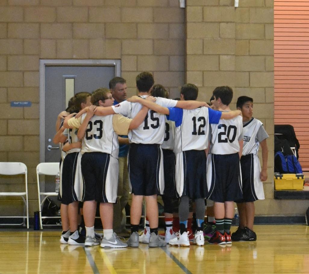 Jr High Basketball Team
