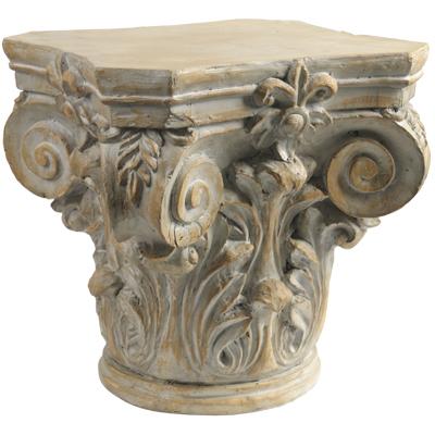 Column Head Side Table