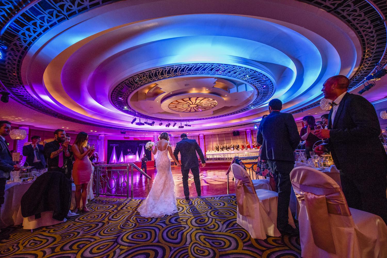 Real Wedding in Ballroom at Park Hyatt Melbourne hotel