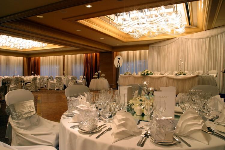 Plaza Ballroom wedding venue at Hyatt Regency Perth