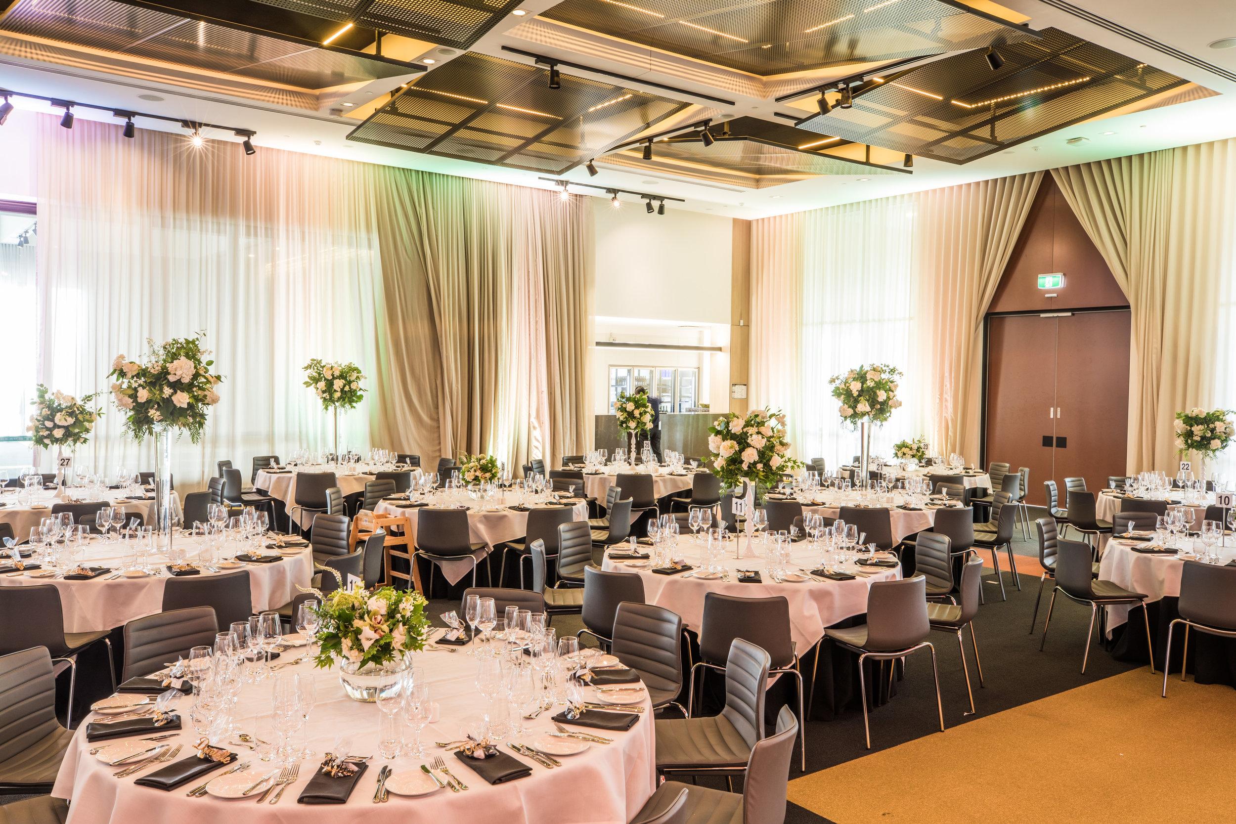 The Australian Rooms at Hyatt Place Melbourne wedding venue