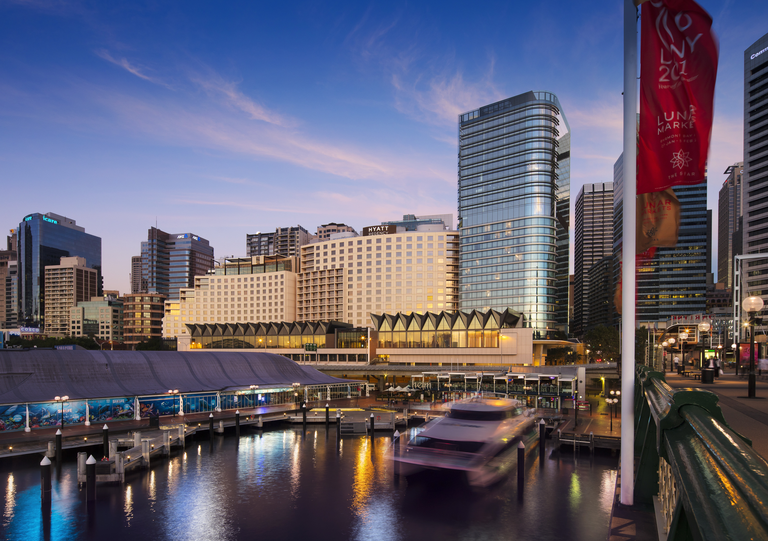 Hyatt Regency Sydney harbourside wedding venue