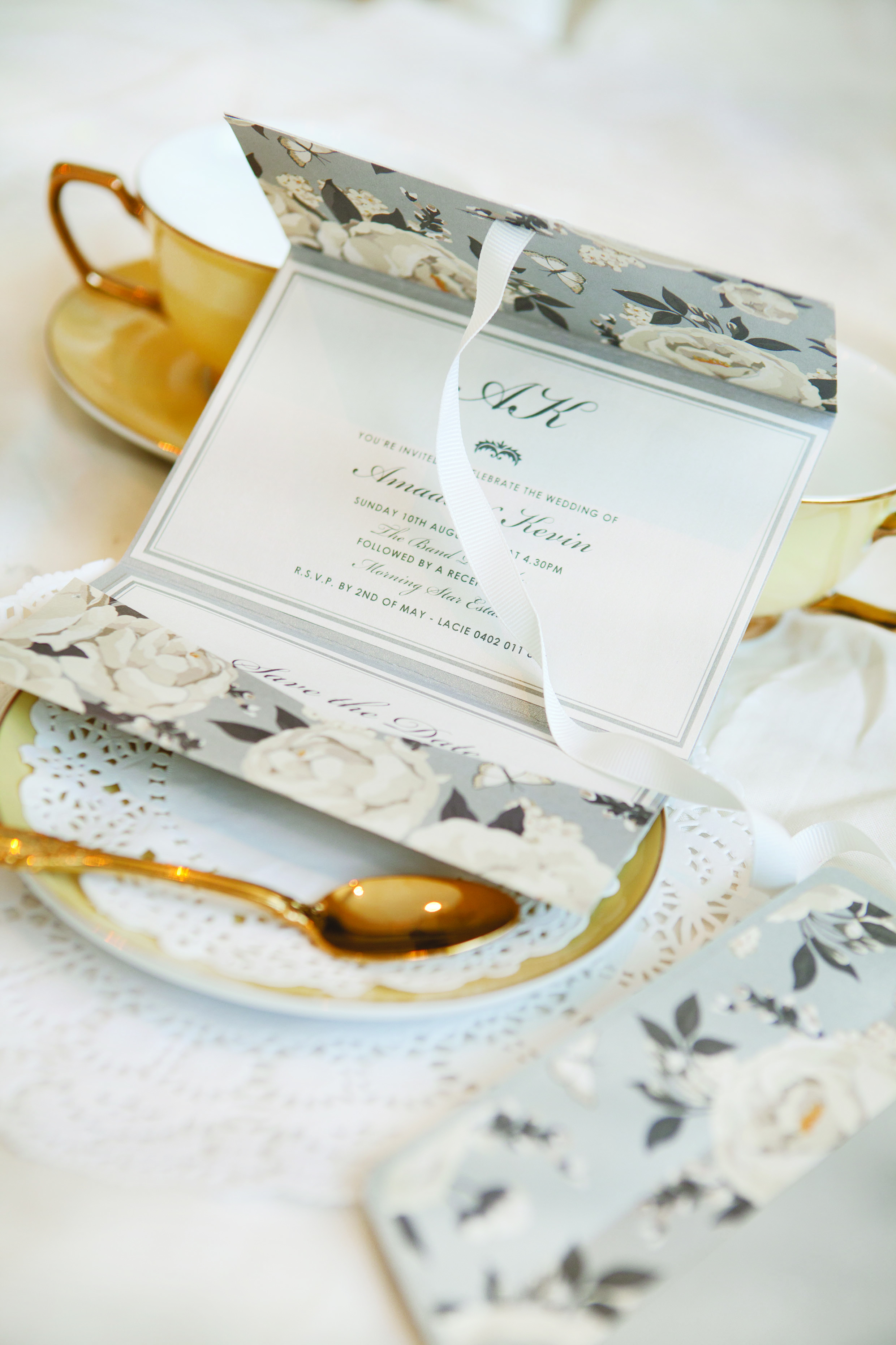 Invite Only: A Note on Wedding Invitations