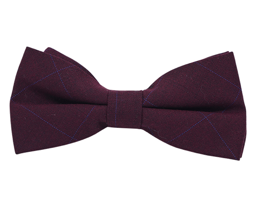 Bow Tie HQ - Royal Red Bow Tie