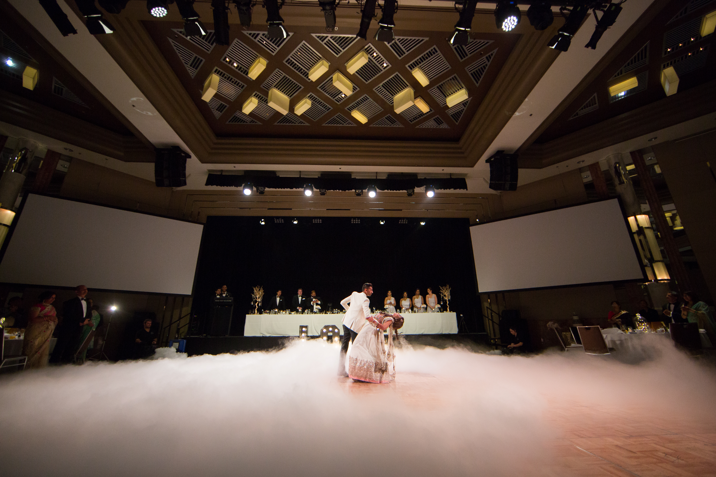 Grand Hyatt Melbourne real wedding