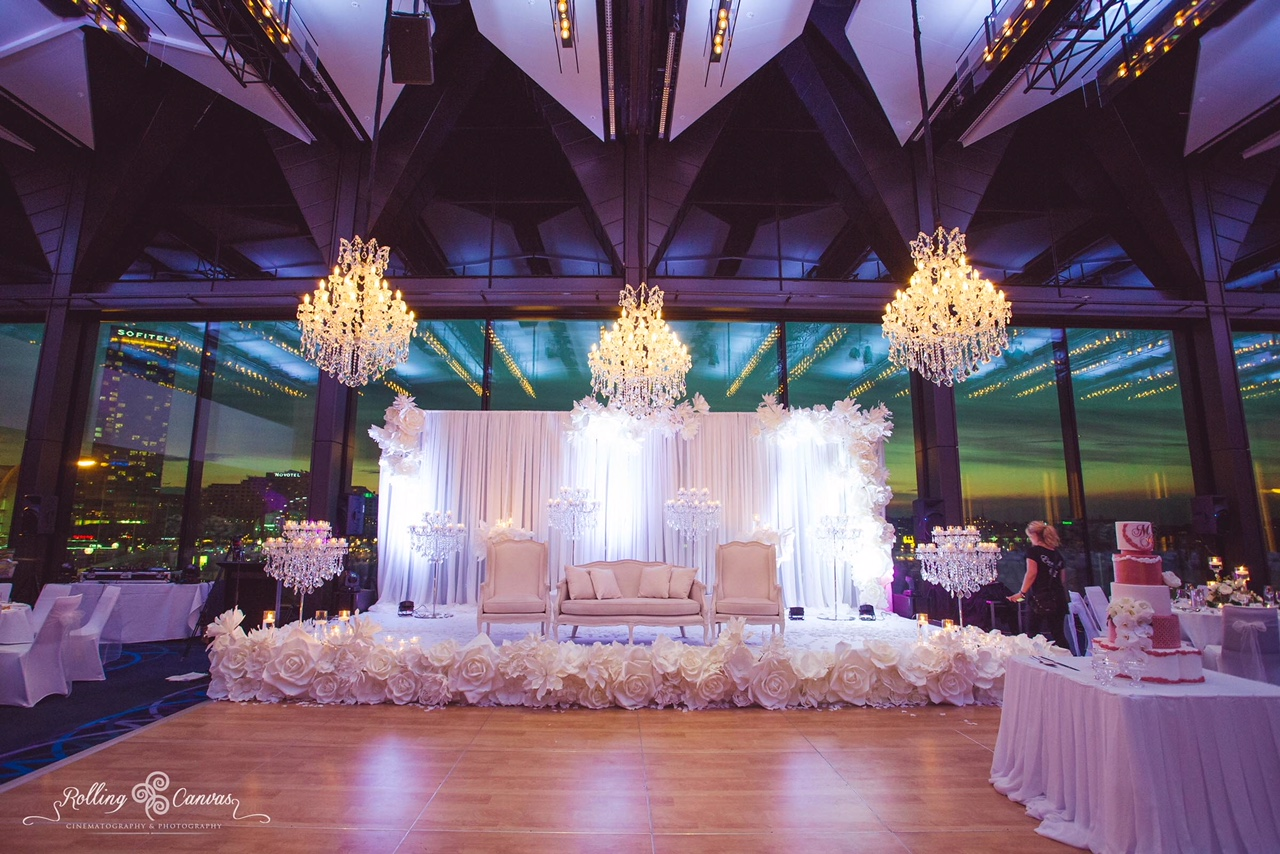 Hyatt Regency Sydney Maritime Ballroom real wedding