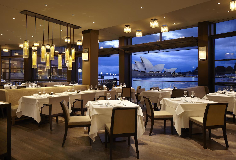 Dining Room at Park Hyatt Sydney Hotel
