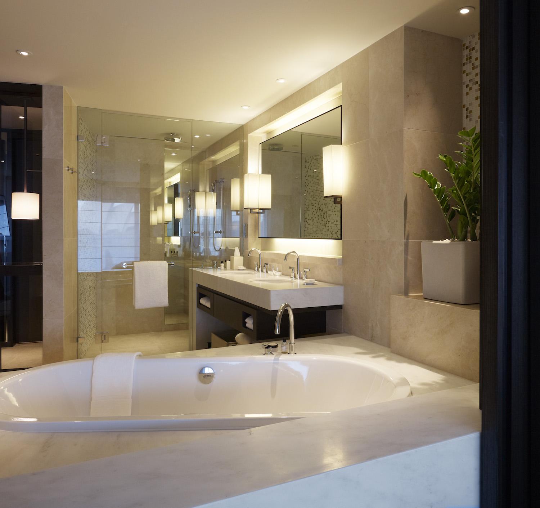 Harbourside King Opera Deluxe Bathroom at Park Hyatt Sydney Hotel