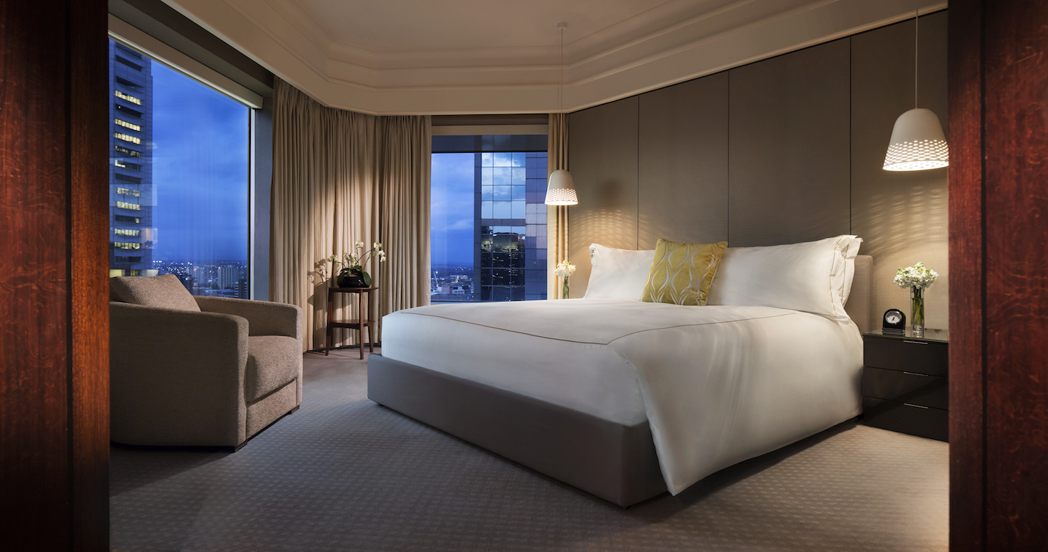 Wedding accommodation Premiere Suite at Grand Hyatt Melbourne