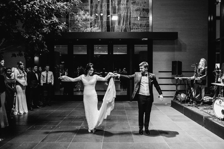 Wedding reception at Grand Hyatt Melbourne