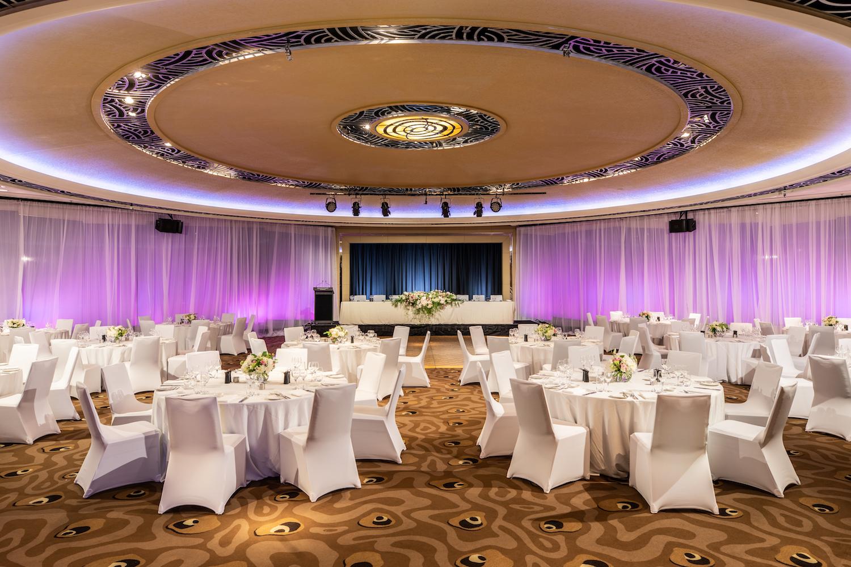 City wedding reception venue, Mayfair Ballroom, at Grand Hyatt Melbourne