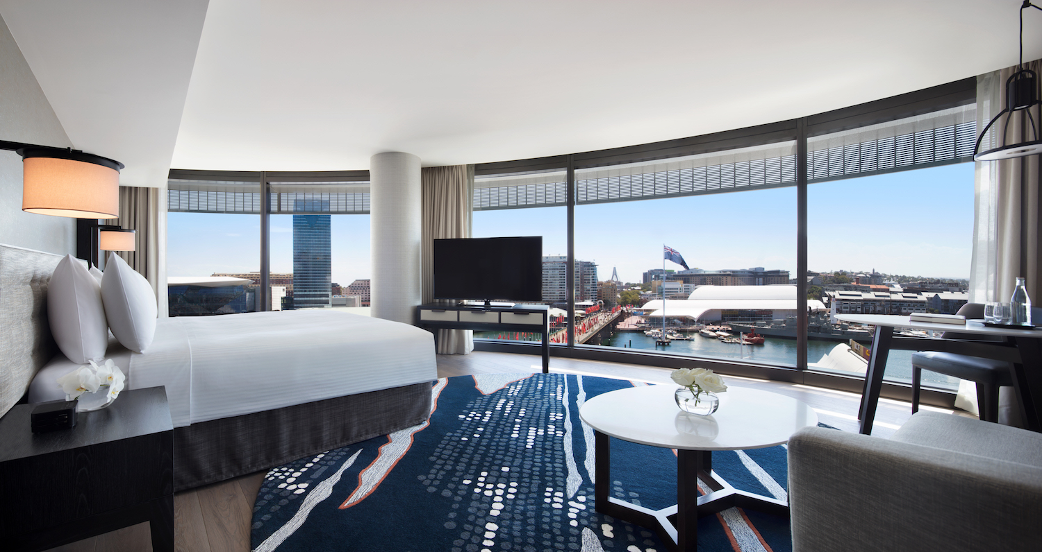 Wedding accommoation, Harbour View Studio Suite at Hyatt Regency Sydney