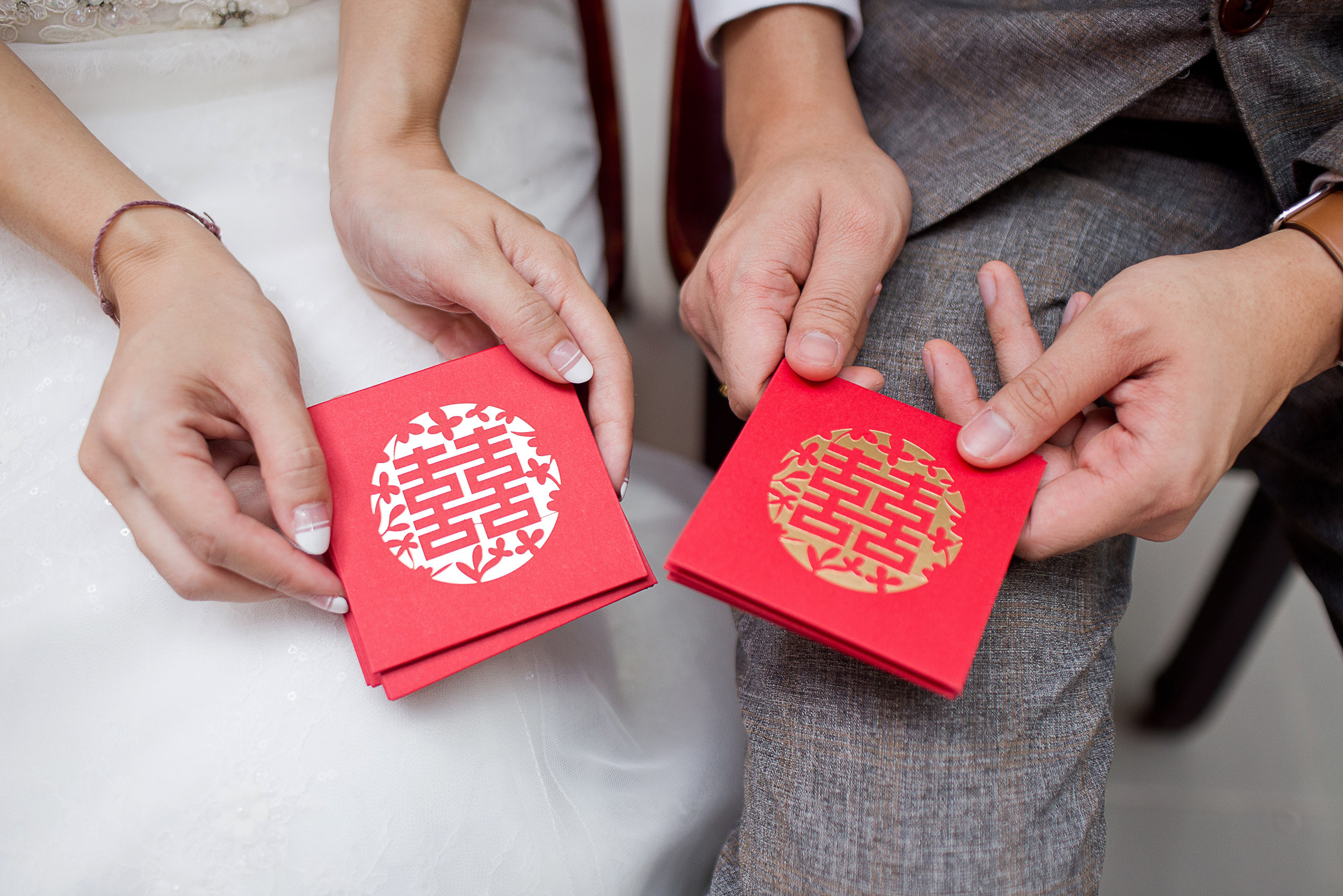 Chinese Weddings red envelopes