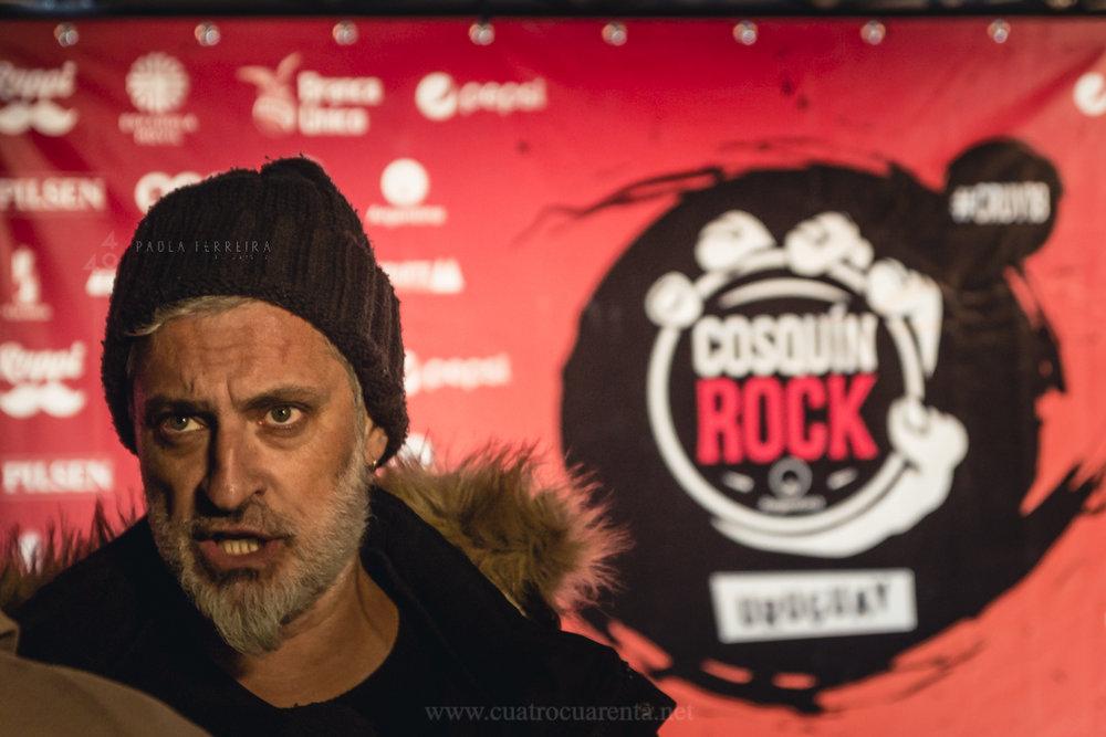 Lanzamiento Cosquin Rock - Paola Ferreira