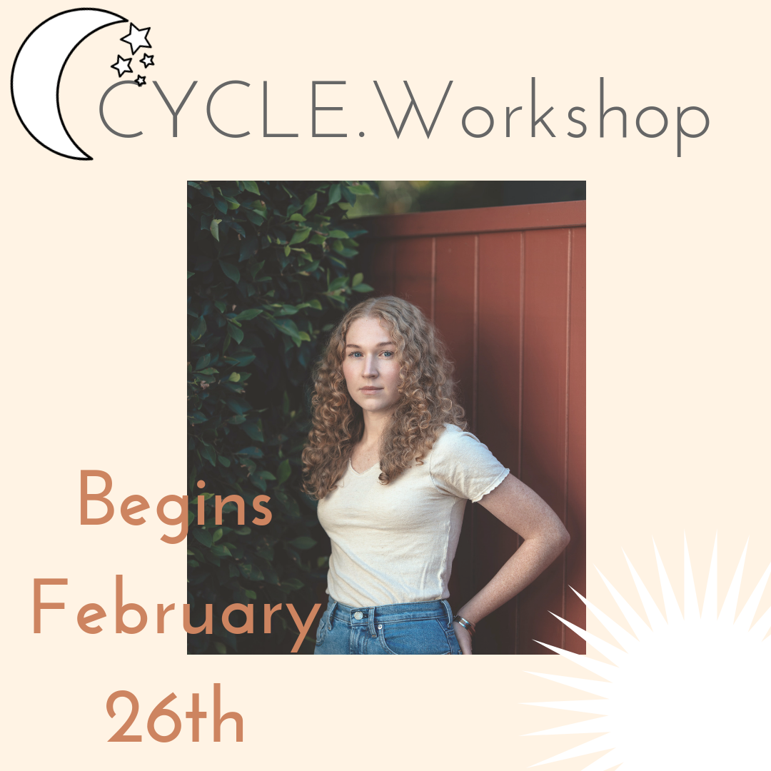 Join the class - The signature series begins again February 26, 2019 and I'd love for you to be a part of our group. This is a four part workshops that takes place over 4 months so you get a to experience your cycle in real time and have continued support from me and our amazing group of women. I couldn't be more thrilled that Holly Grigg-spall, author of Sweetening the Pill and women's rights goddess will be joining us for our first class. Find out more…