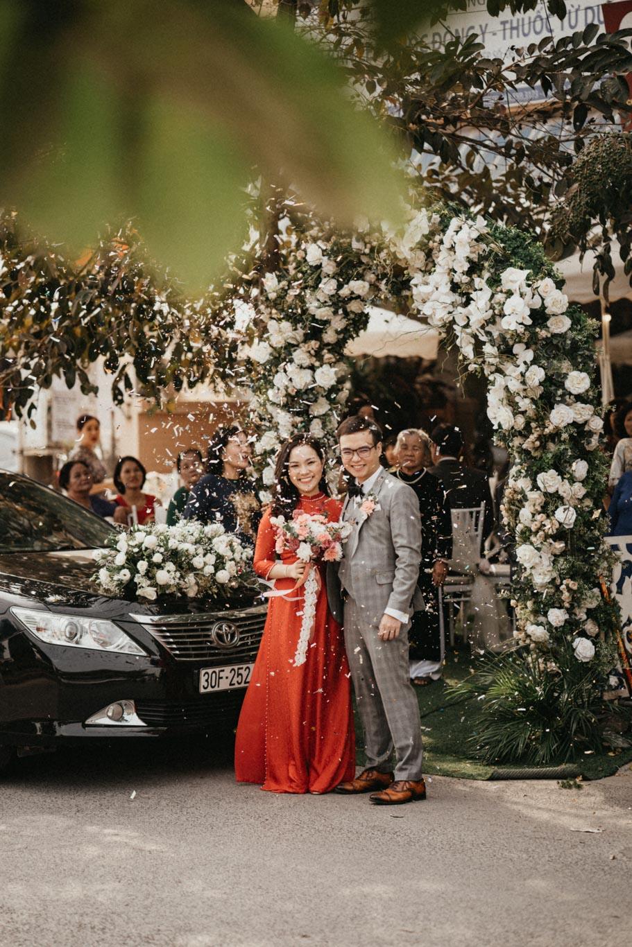 Quang Minh & Thu Nguyệt ceremony