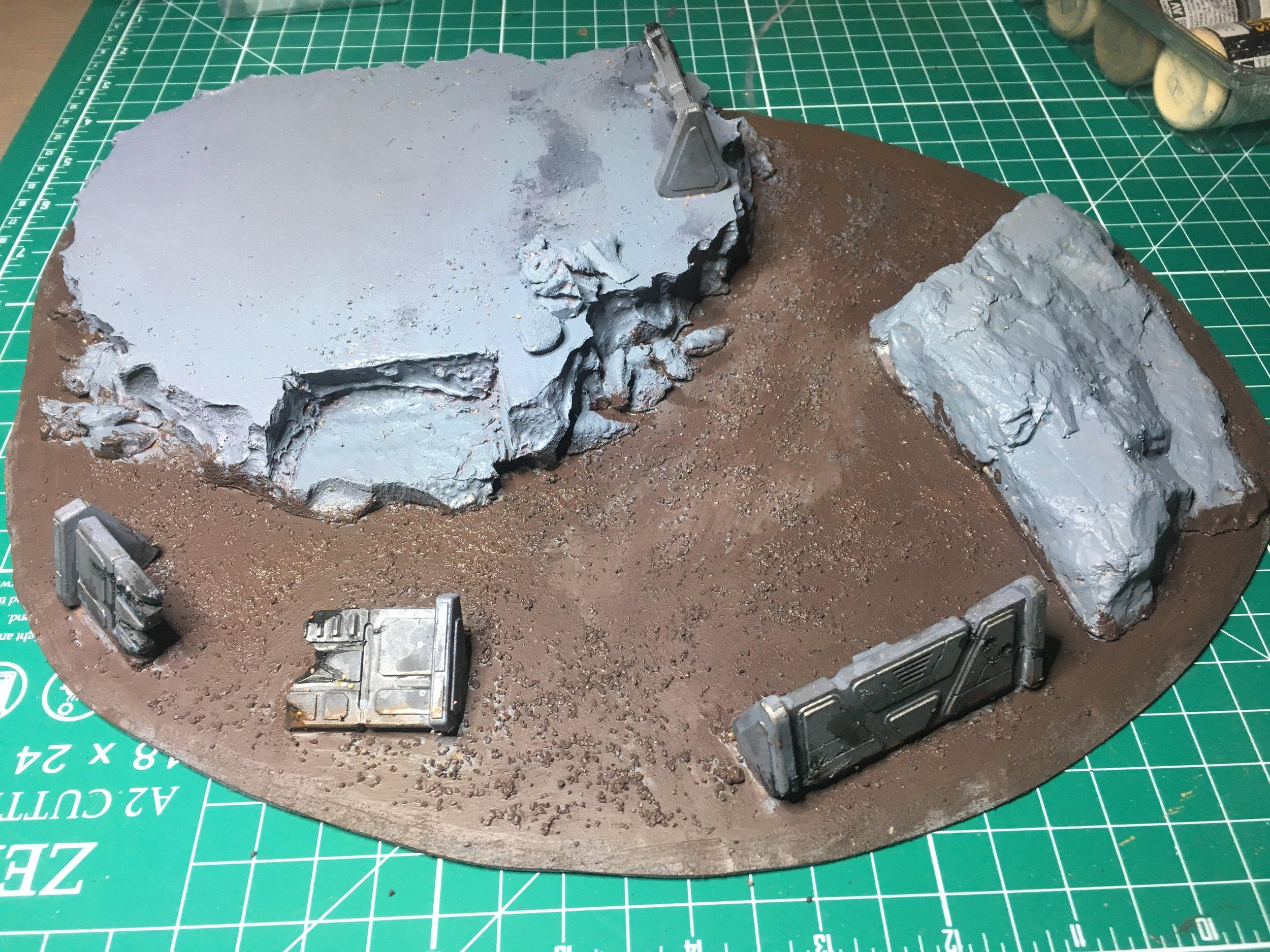 Base brown plus Stirland Mud